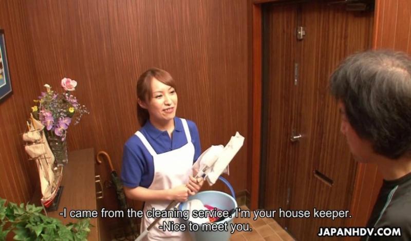 francais magnifique femme de menage cecilia de lys baise dur au lieu de le nettoyage de la maison